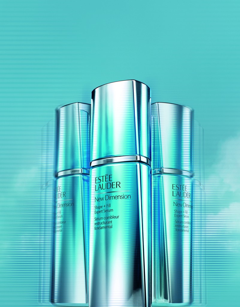 New Dimension Estée Lauder Shape + Fill Expert Serum