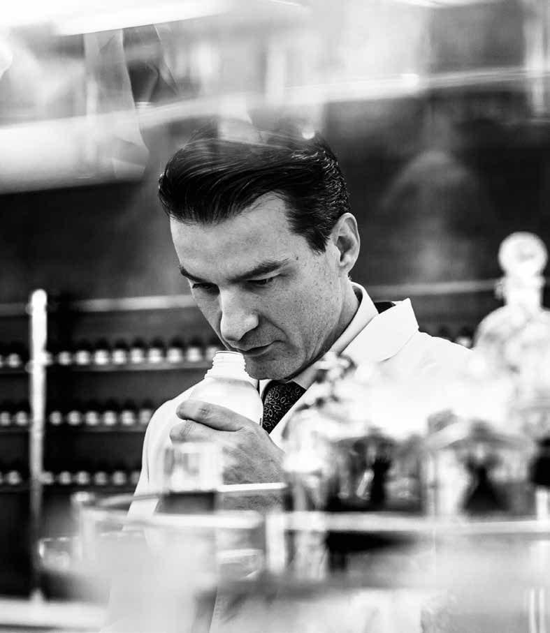 Thierry Wasser, perfumista de Guerlain.