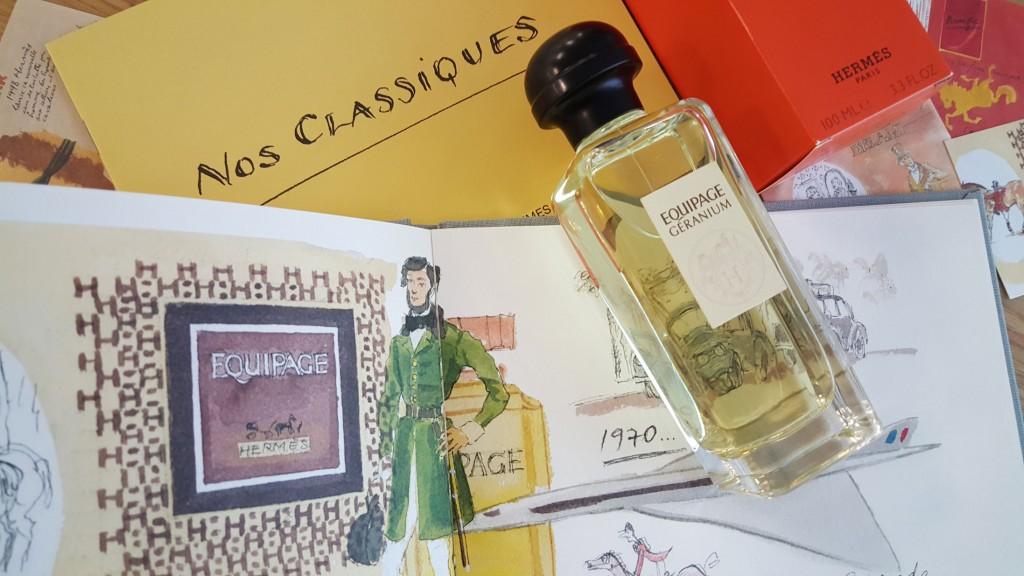 Les Classiques d'Hermès. Equipage Géranium (100 ml, PVPR 95 €).