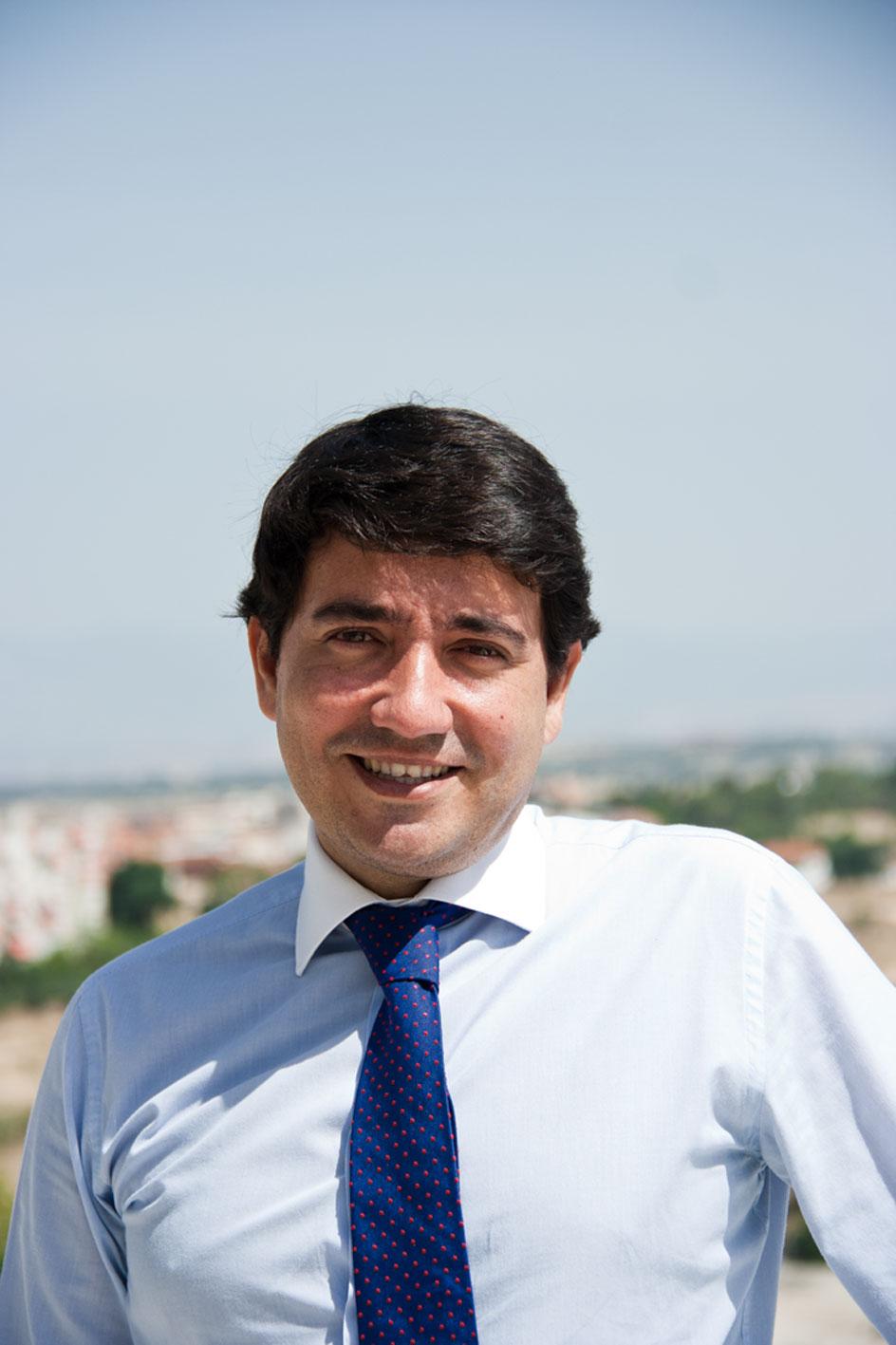 Javier Sánchez Ciudad, director de Loewe Perfumes (2015).