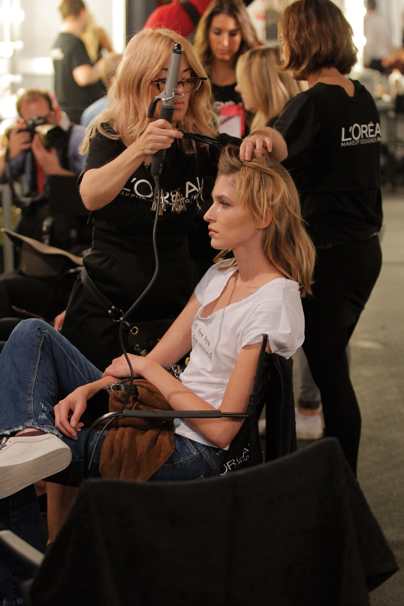 Backstage MBFWEEK primavera 2016