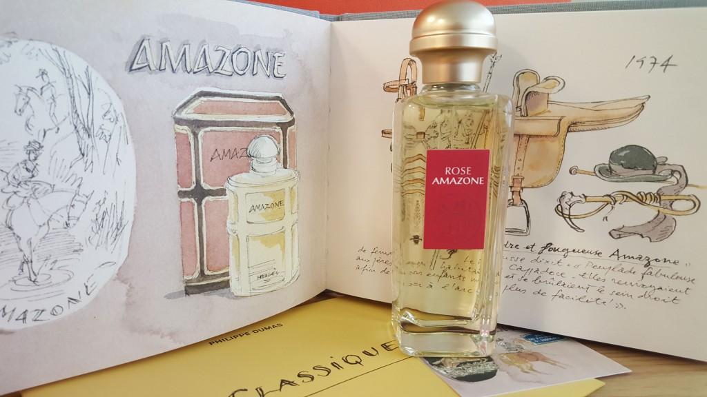 Les Classiques d'Hermès. Rose Amazone (100 ml, PVPR 120 €)