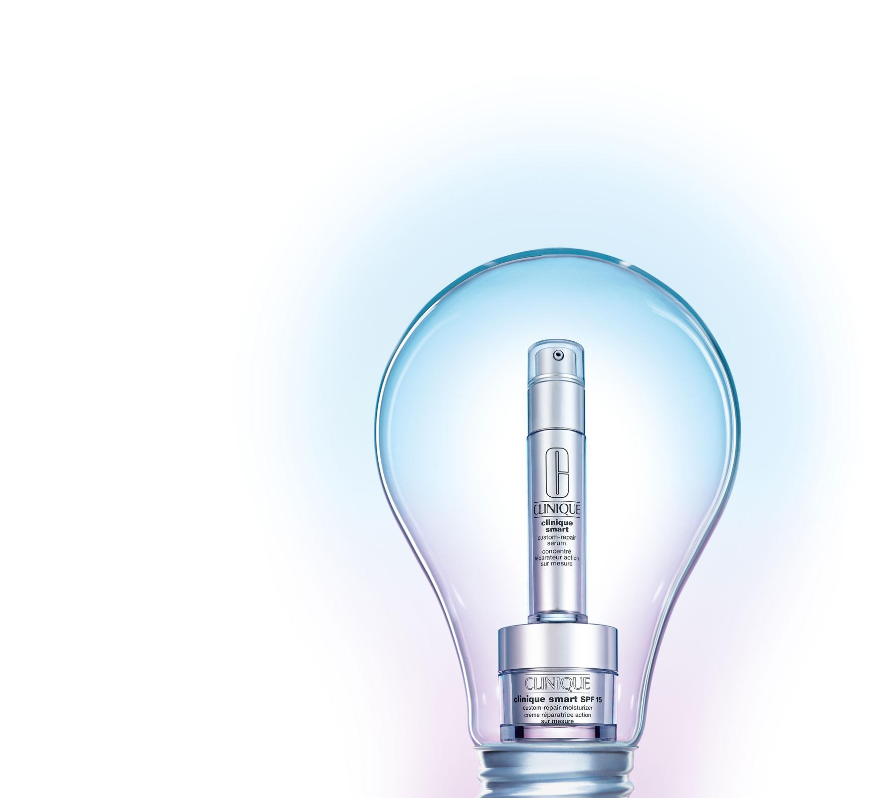 Smart Hidratante y Serum, de Clinique