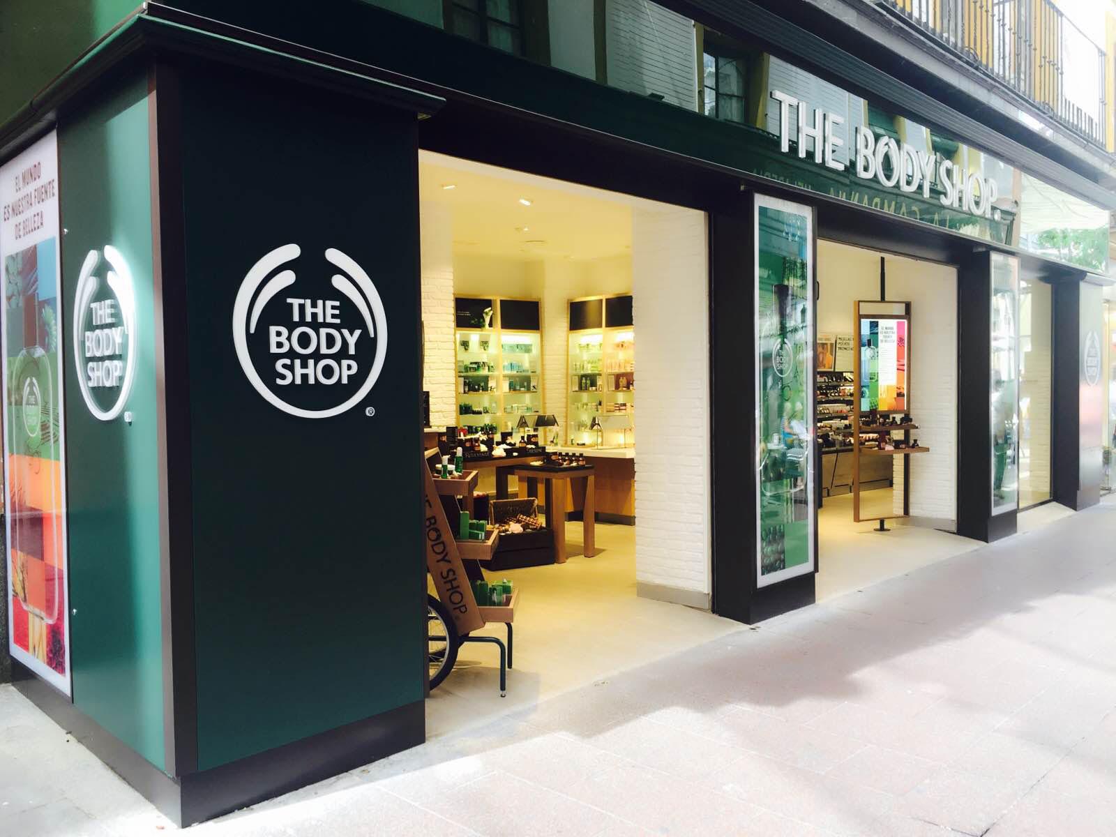 The Body Shop. Tienda de Sevilla.