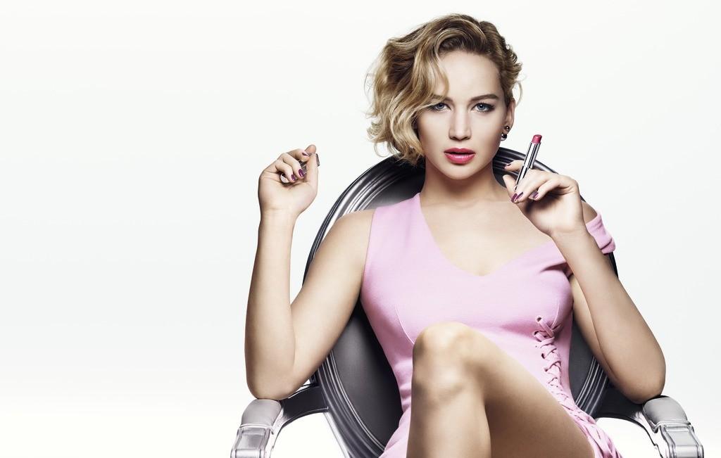 Jennifer Lawrence, imagen de Dior Addict LipStick.