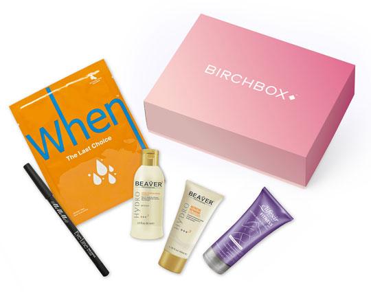 Birchbox Box Pink