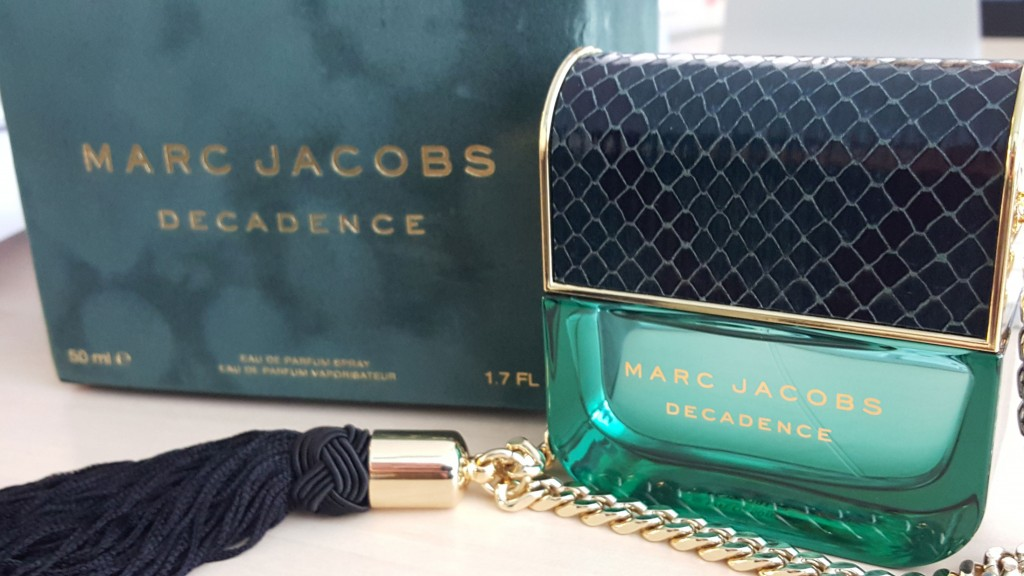 Decadence, el perfume-bolso de Marc Jacobs. Packaging.