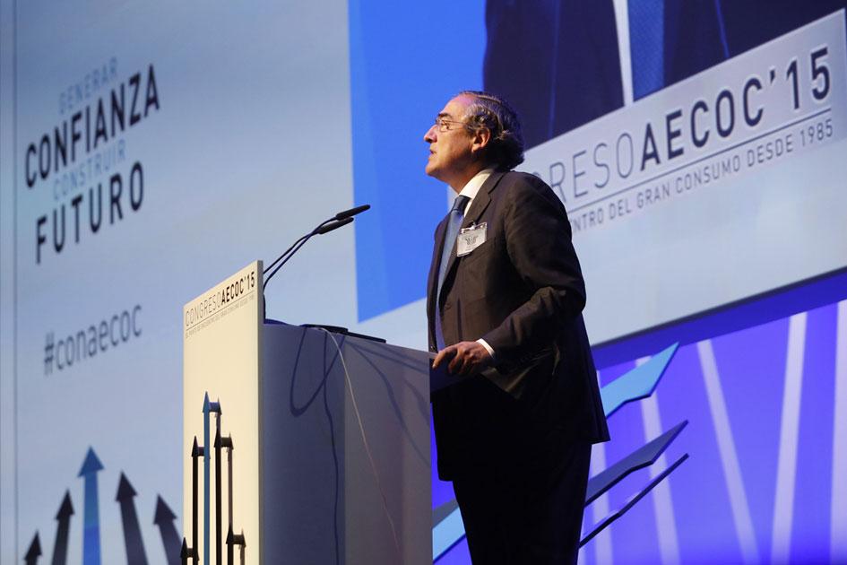 Juan Rosell en Congreso AECOC 15.