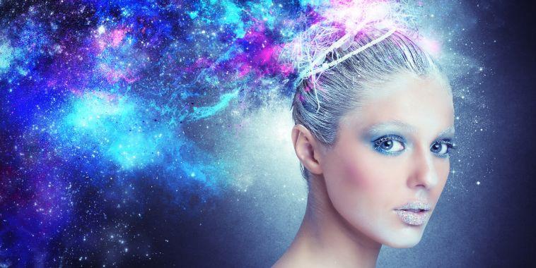 Galaxy Hair tendencia capilar