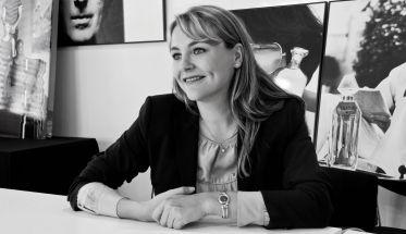 Adeline Vidal, directora general de LVMH Fragrance Brands.