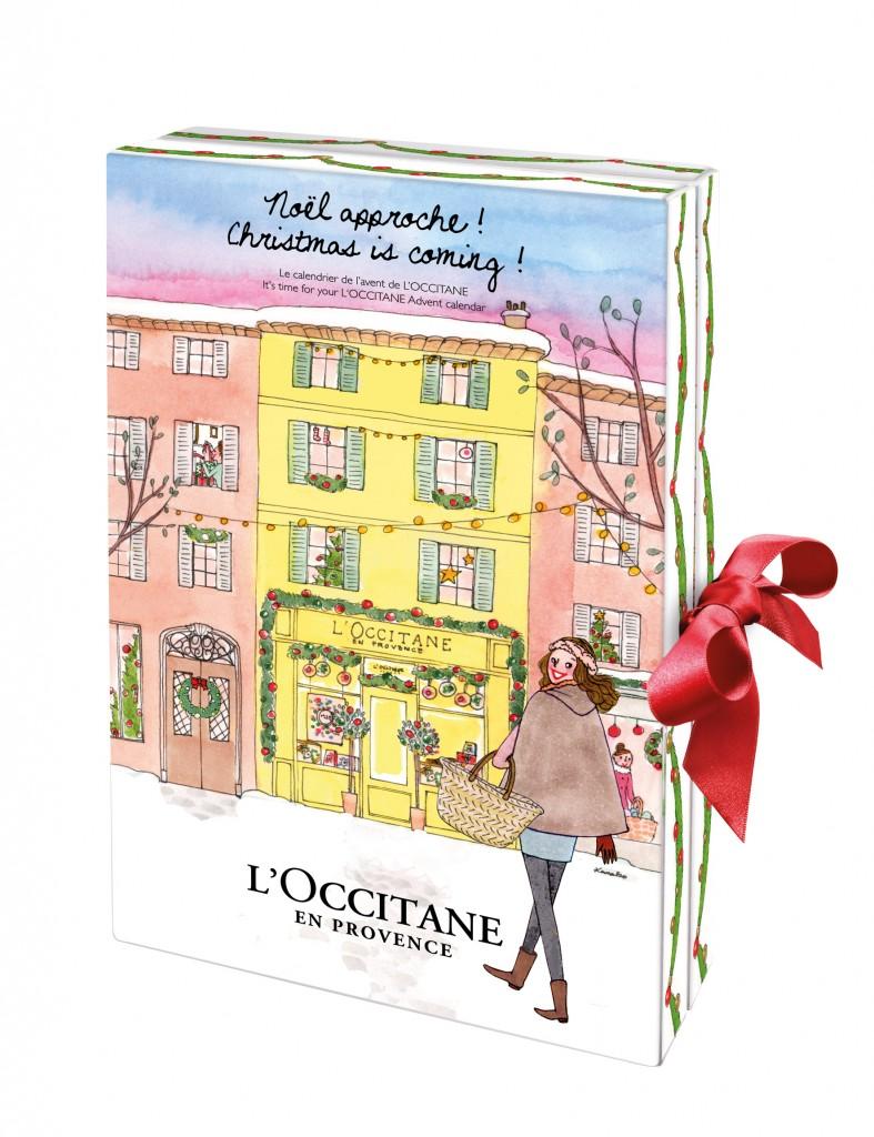 Calendario de Adviento de L'Occitane