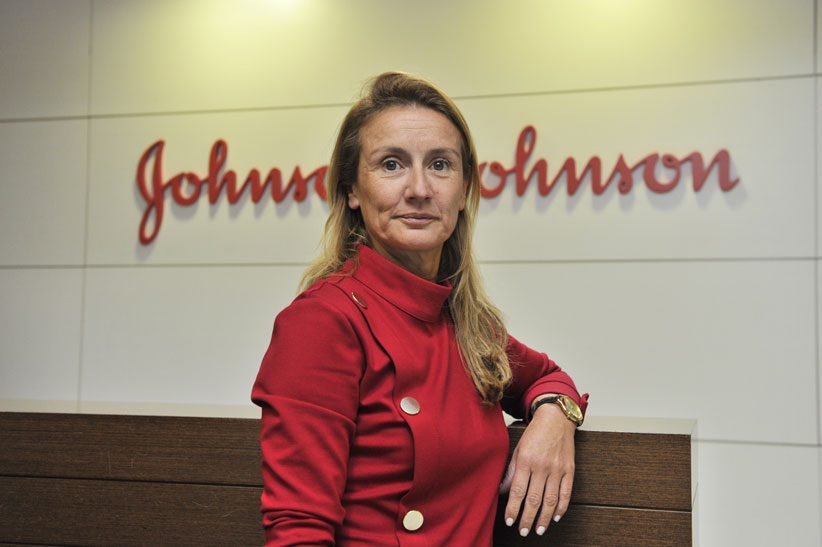 Margarida Neves, directora general Iberia de Johnson & Johnson.