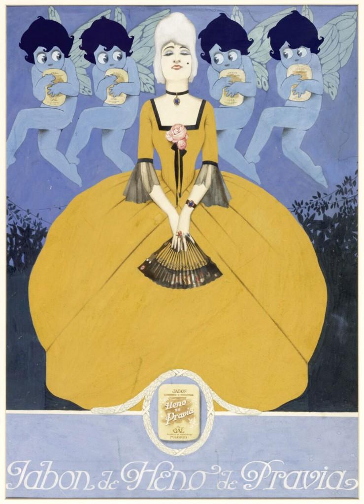 Cartel de Heno de Pravia, de Federico Ribas.
