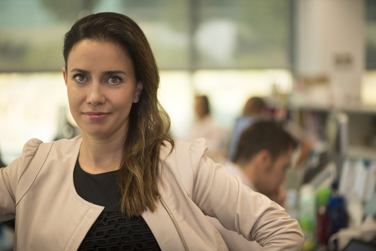 Directora de RRHH de Eurofragance, Marta Moseguí.