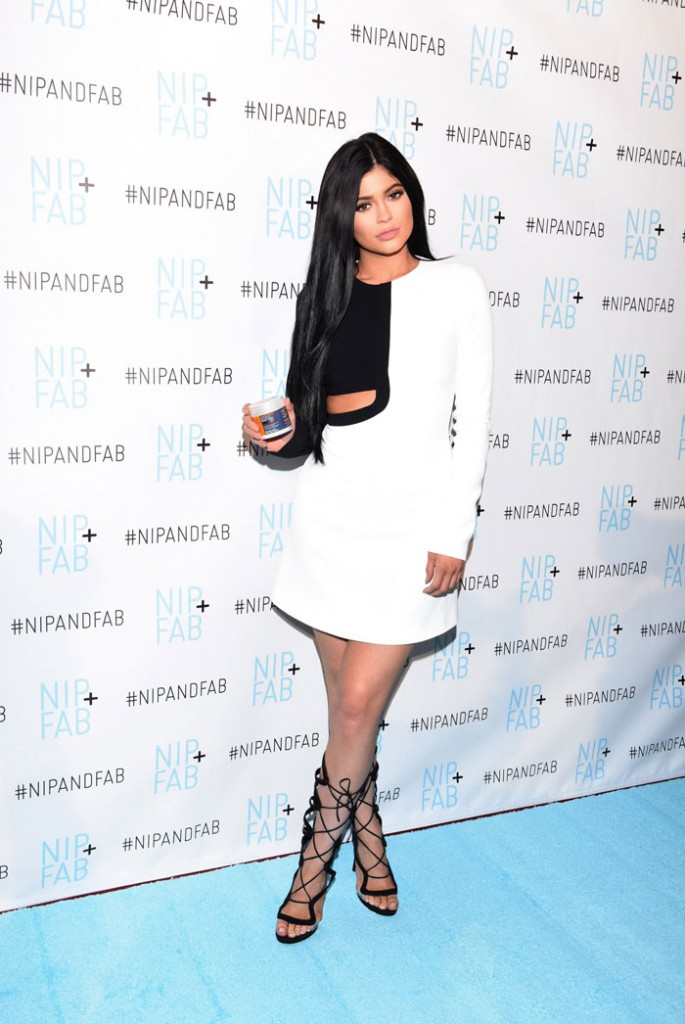 Kylie Jenner, embajadora de Nip+Fab.