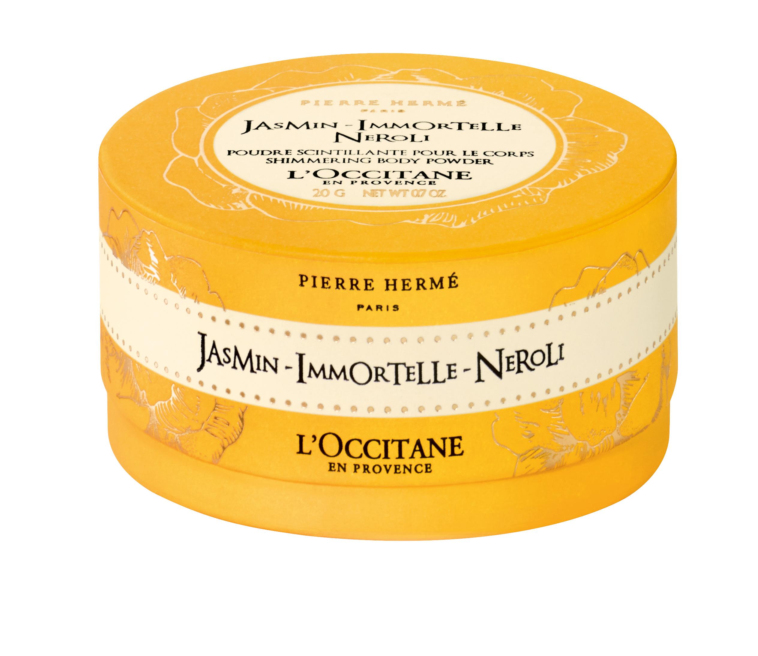 L'Occitane, Polvos brillantes corporales Jasmin Immortelle Neroli