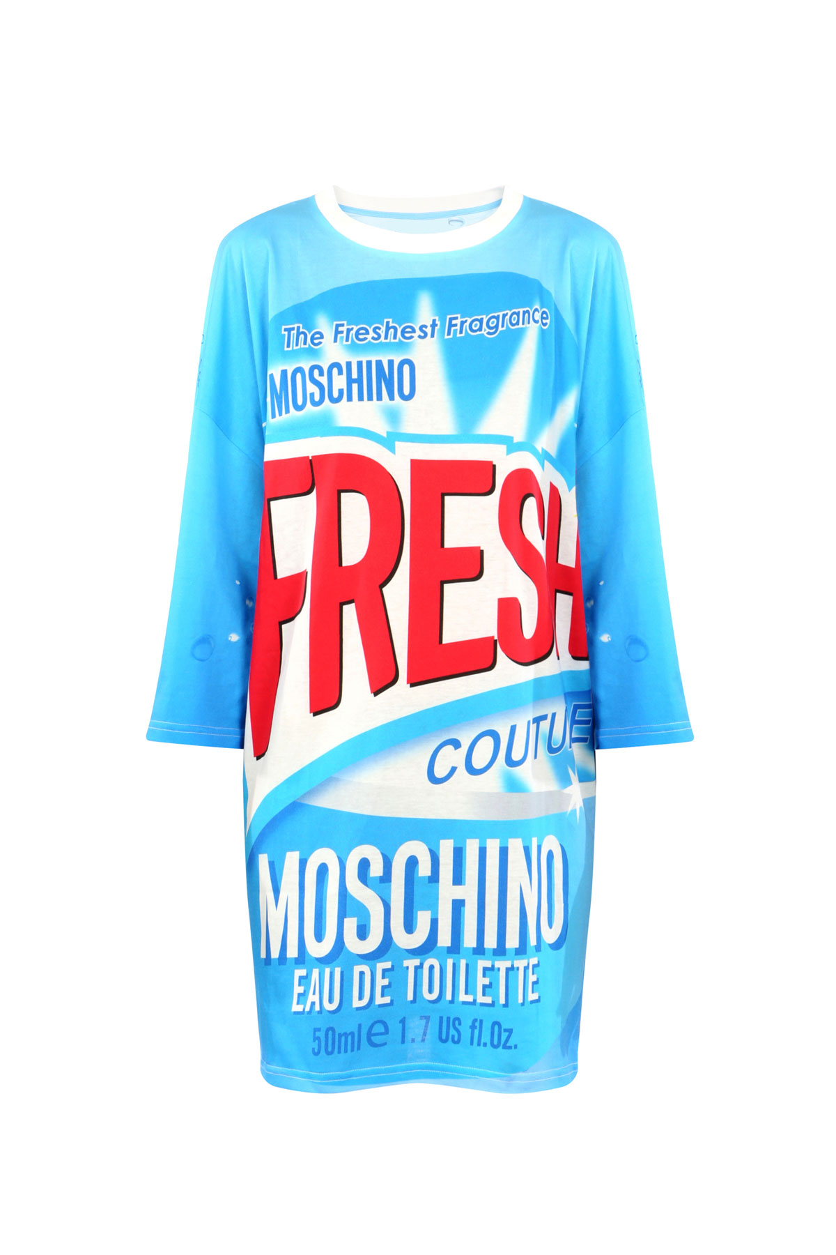 Moschino, colección cápsula Fresh. Vestido