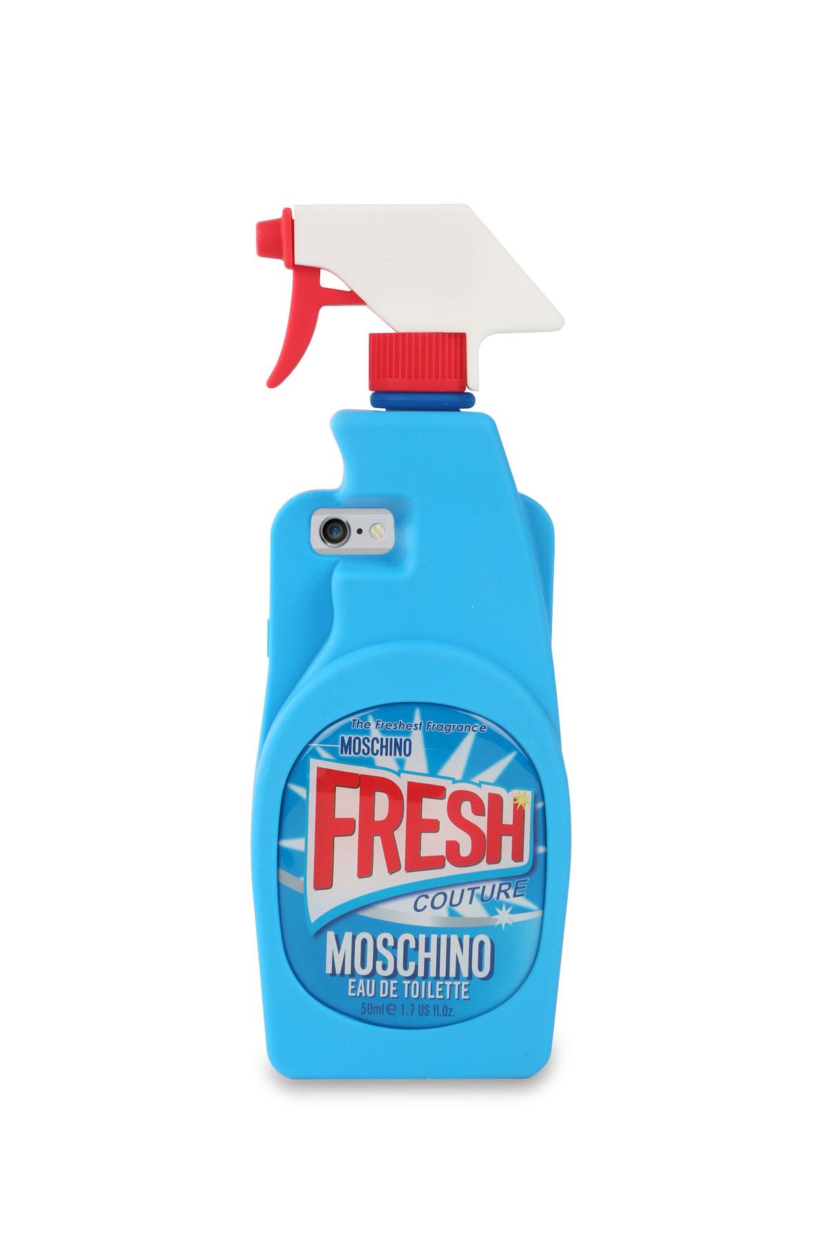 Moschino, colección cápsula Fresh. Carcasa para móvil.