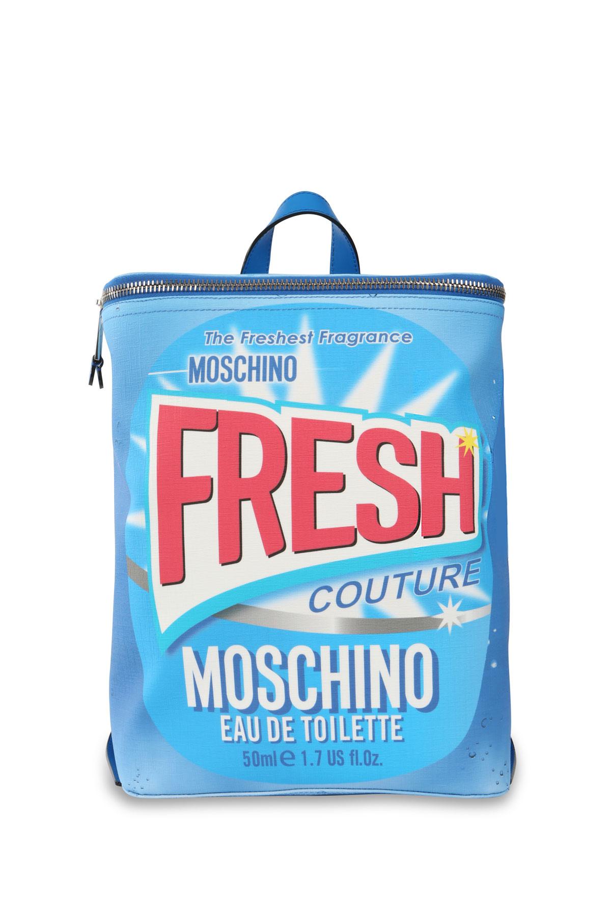 Moschino, colección cápsula Fresh. Mochila.