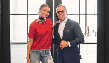 Gigi Hadid y Tommy Hilfiger
