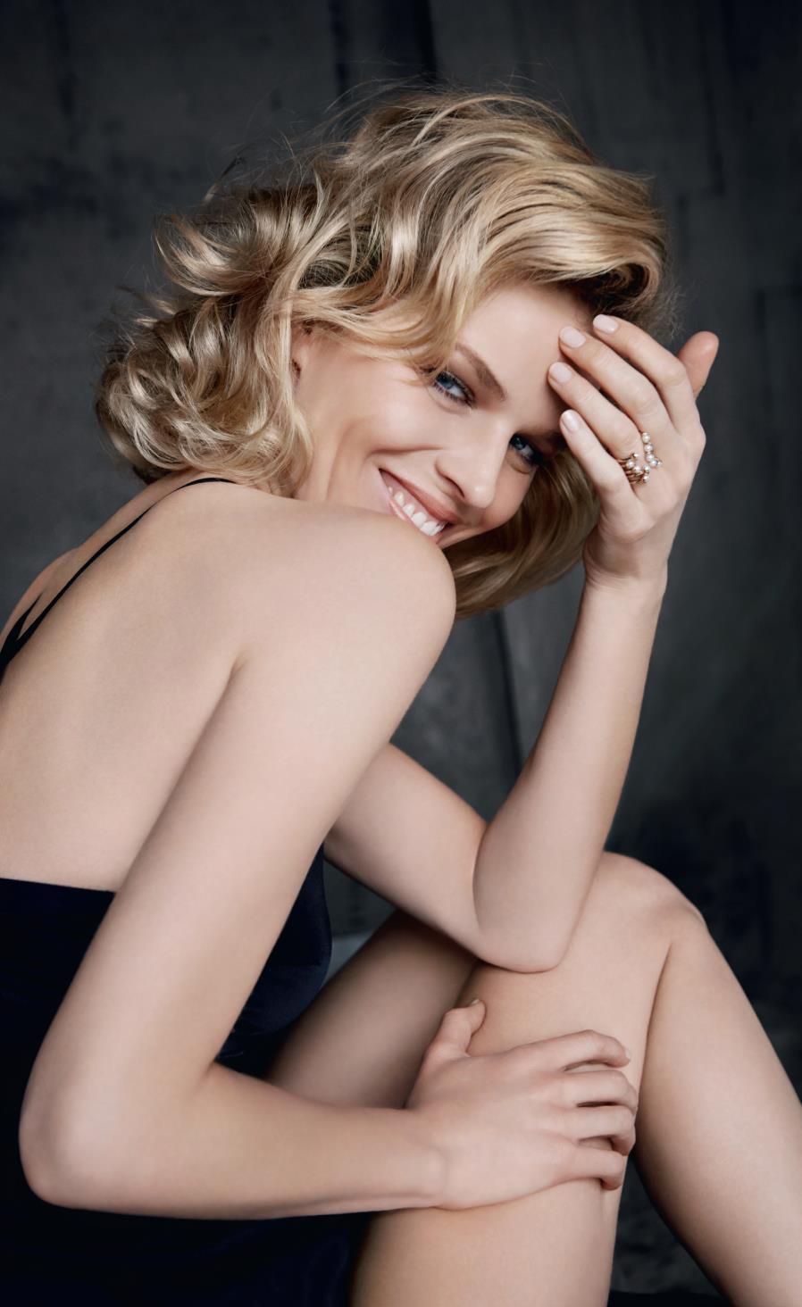 Eva Herzigova, imagen de Capture Totale de Dior
