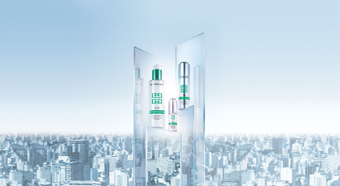 Gama Vax'in City Skin Solution, de Givenchy.