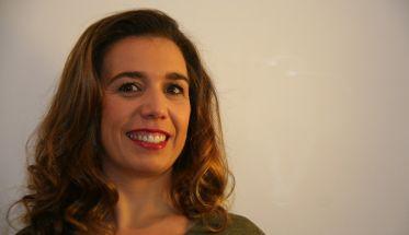 Carolina Díaz, tras su sesión en Rizos