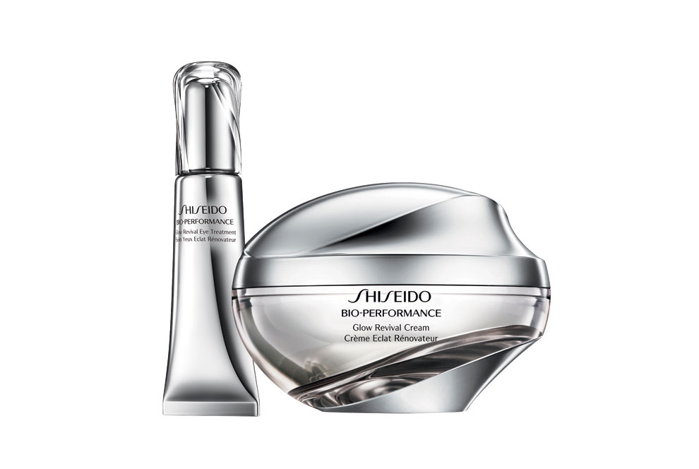 Shiseido Global Revival crema y contorno de ojos.