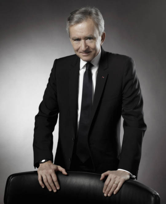 Bernard Arnault, presidente de LVMH.