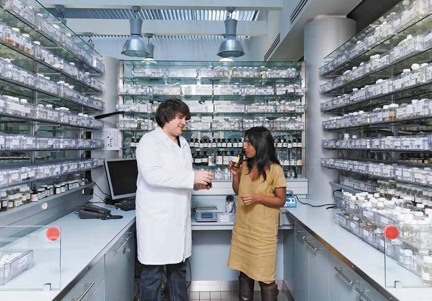 Laboratorio de Givaudan.