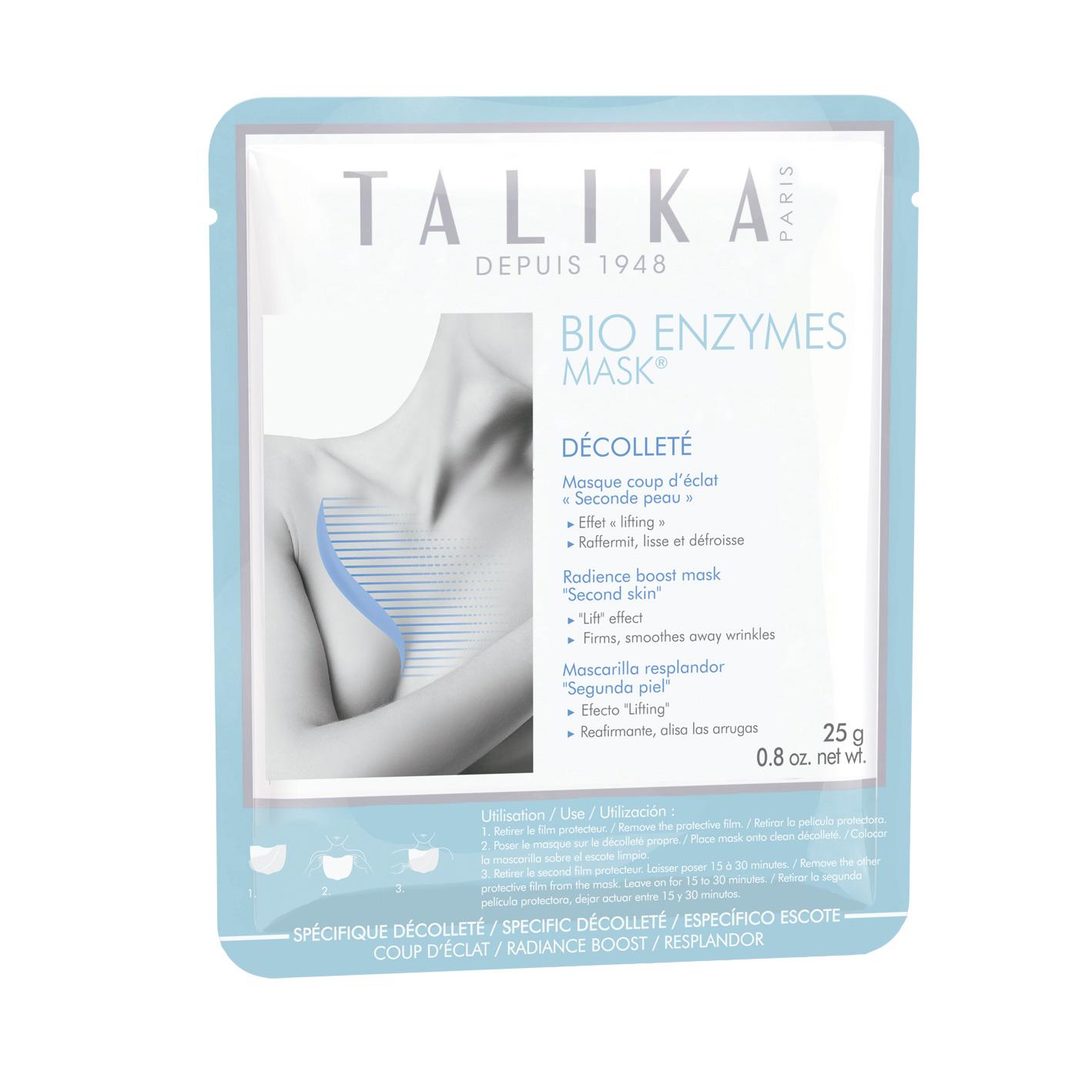 Bio Enzymes Mask Escote, de Talika