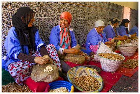 The Body Shop. Aceite de Argán en Marruecos.