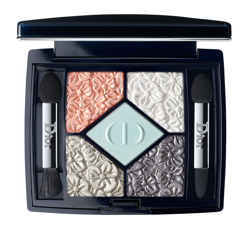 Dior Glowing Gardens. Paleta 5 Couleurs Blue Garden.