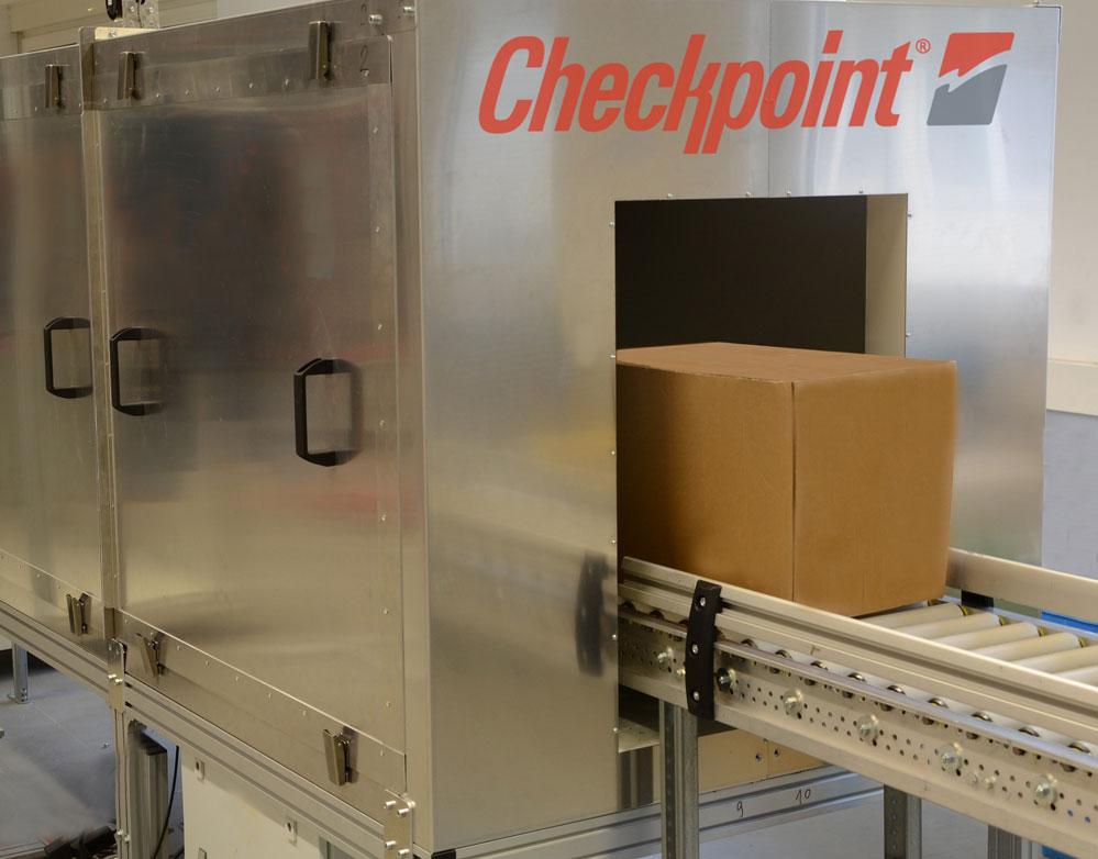 Túnel RFID de Checkpoint.