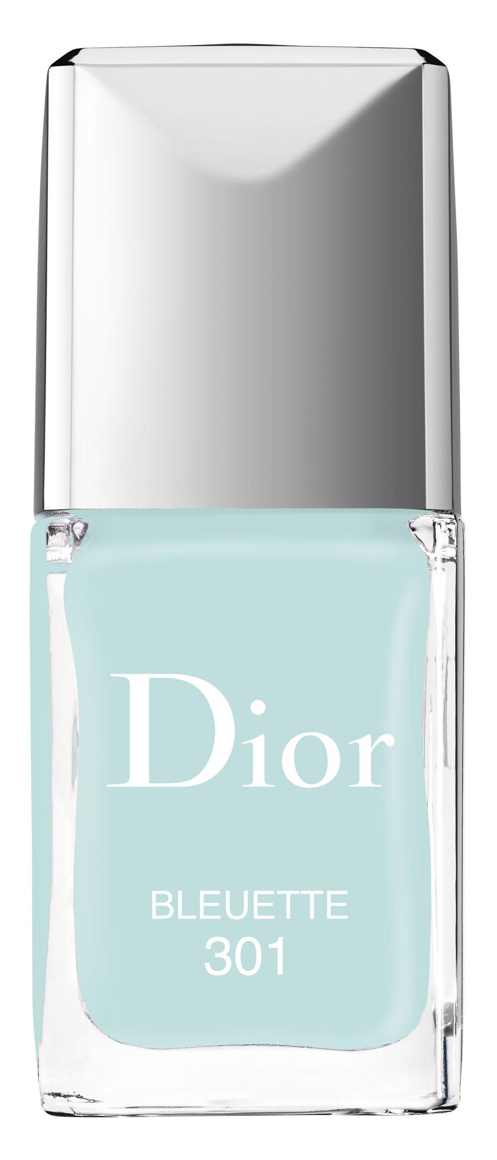 Dior Glowing Gardens. Vernis Bleuette.
