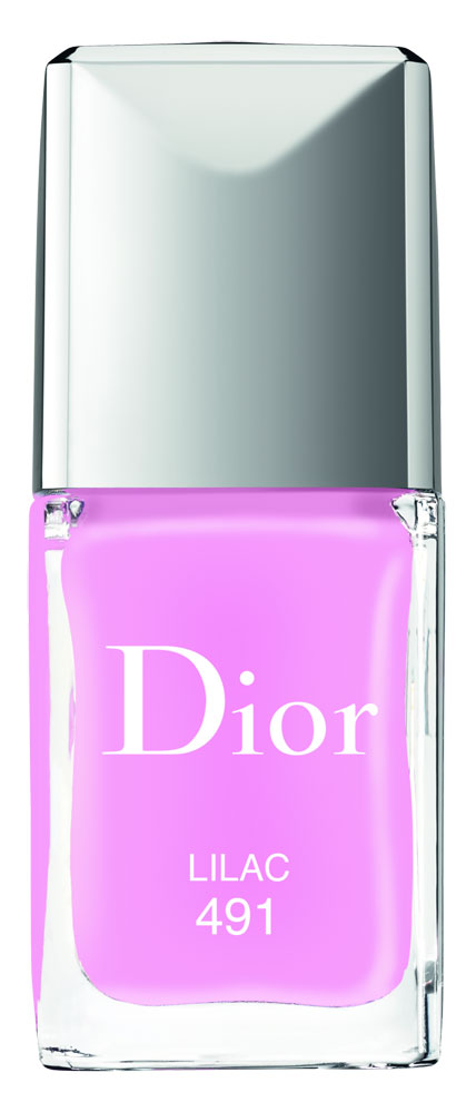 Dior Glowing Gardens. Vernis Lilac.