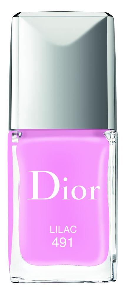 Dior Glowing Gardens. Vernis Lilac.