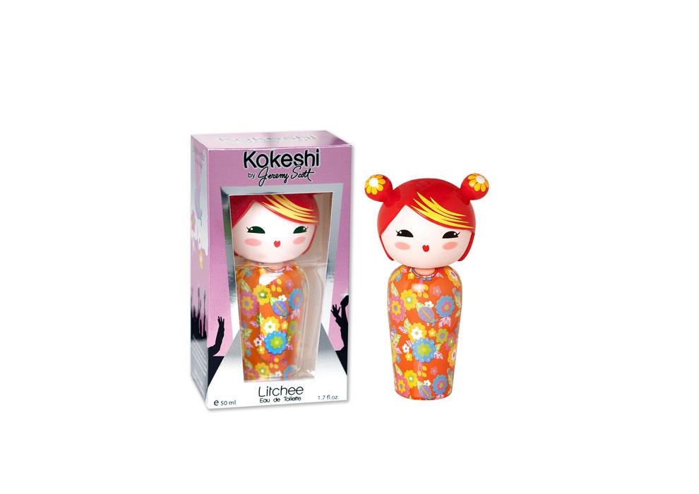 Kokeshi by Jeremy Scott, Litchee. EDT 50 ml.