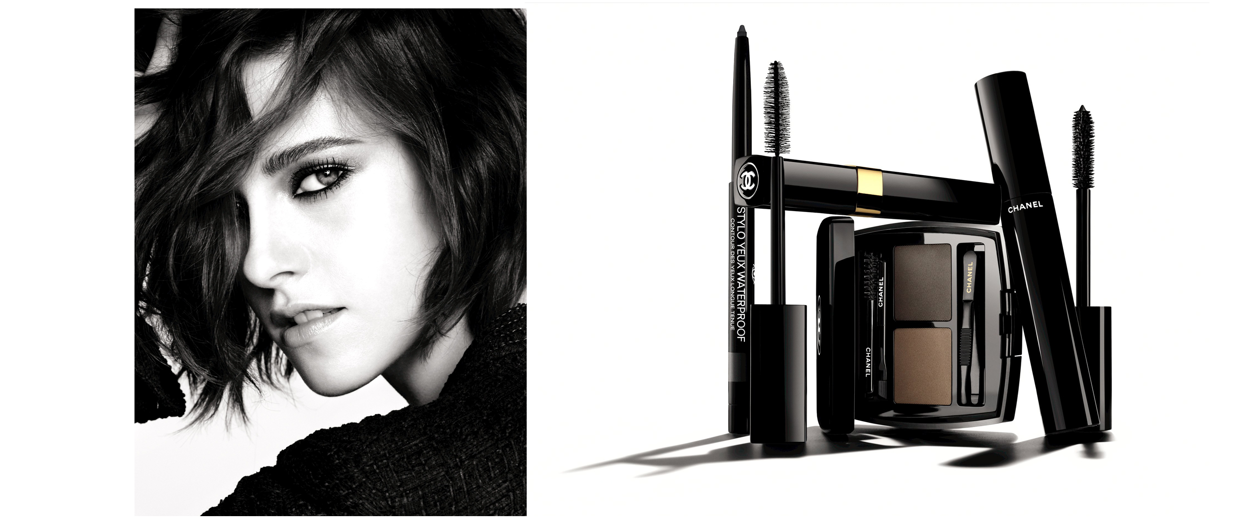 Chanel colección ojos 2016, Kristen Stewart