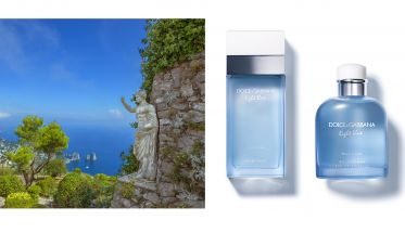 DOLCE GABBANA Light Blue Capri