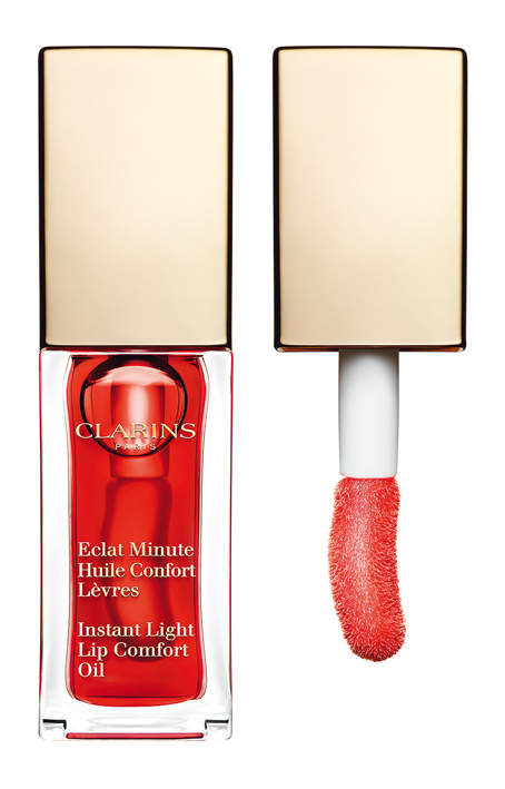 Clarins Eclat Minute Huile Confort Levres 03 red berry