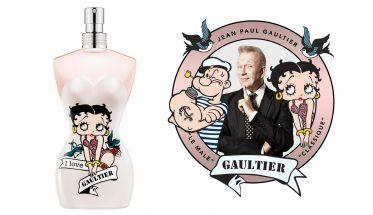 Jean Paul Gaultier Betty Boop y Popeye