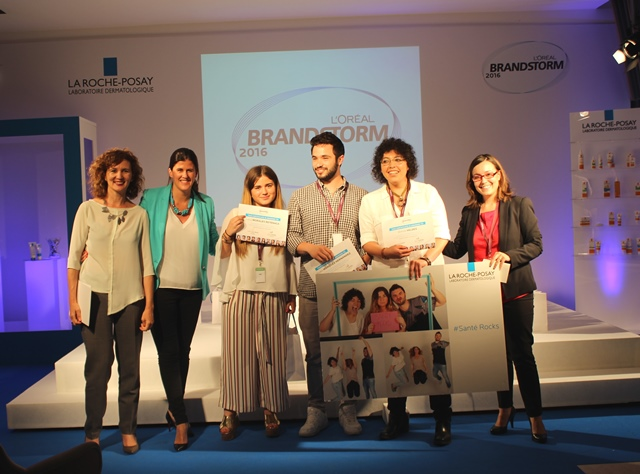 Estudiantes andaluces gana la final local de L'Oréal Brandstorm 2016.