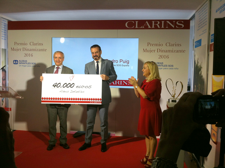 Olivier Courtin Clarins, Pedro Puig, Isabelle Picou Clarins