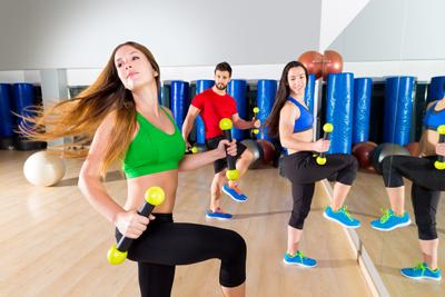 ejercicio culo zumba