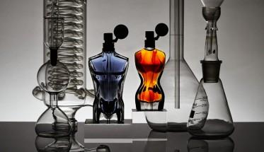 Esencia de perfume Jean Paul Gaultier, laboratorio