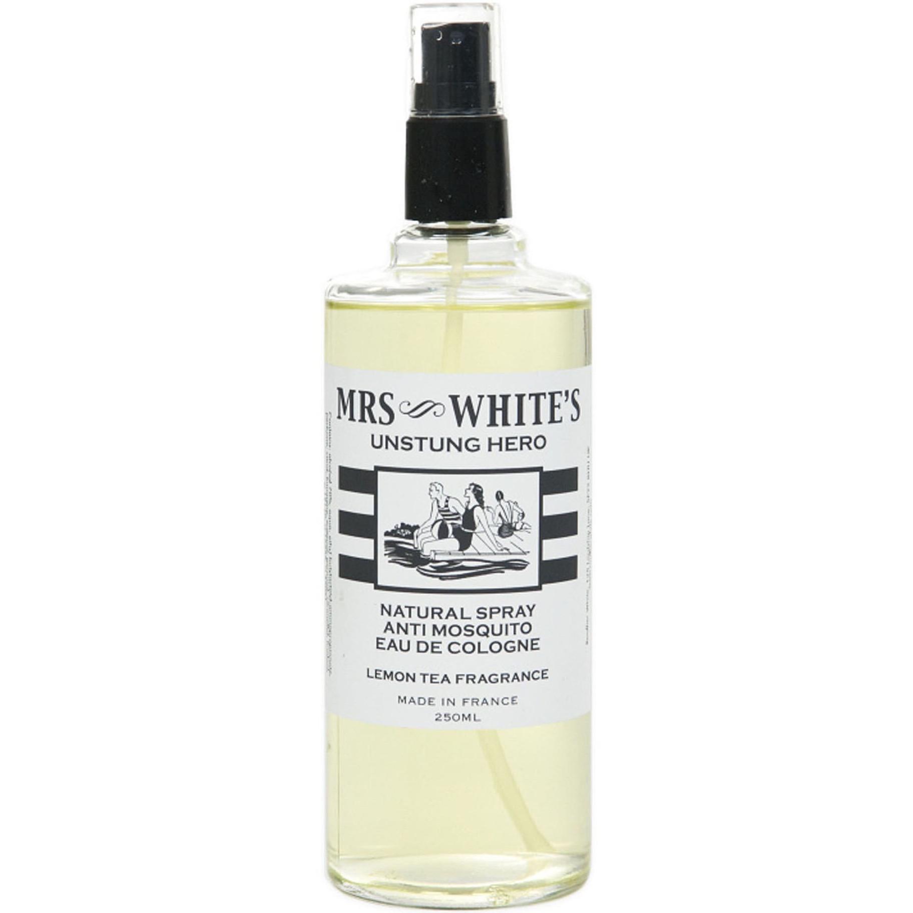 Mrs Whites Unstung Hero, perfume repelente de mosquitos