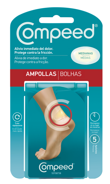 Compeed Ampollas (PVPR 6,60 €)
