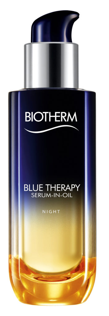 BIOTHERM BLUE THERAPY SERUM IN OIL-POMPE BLEUE NOIRE EC1 001