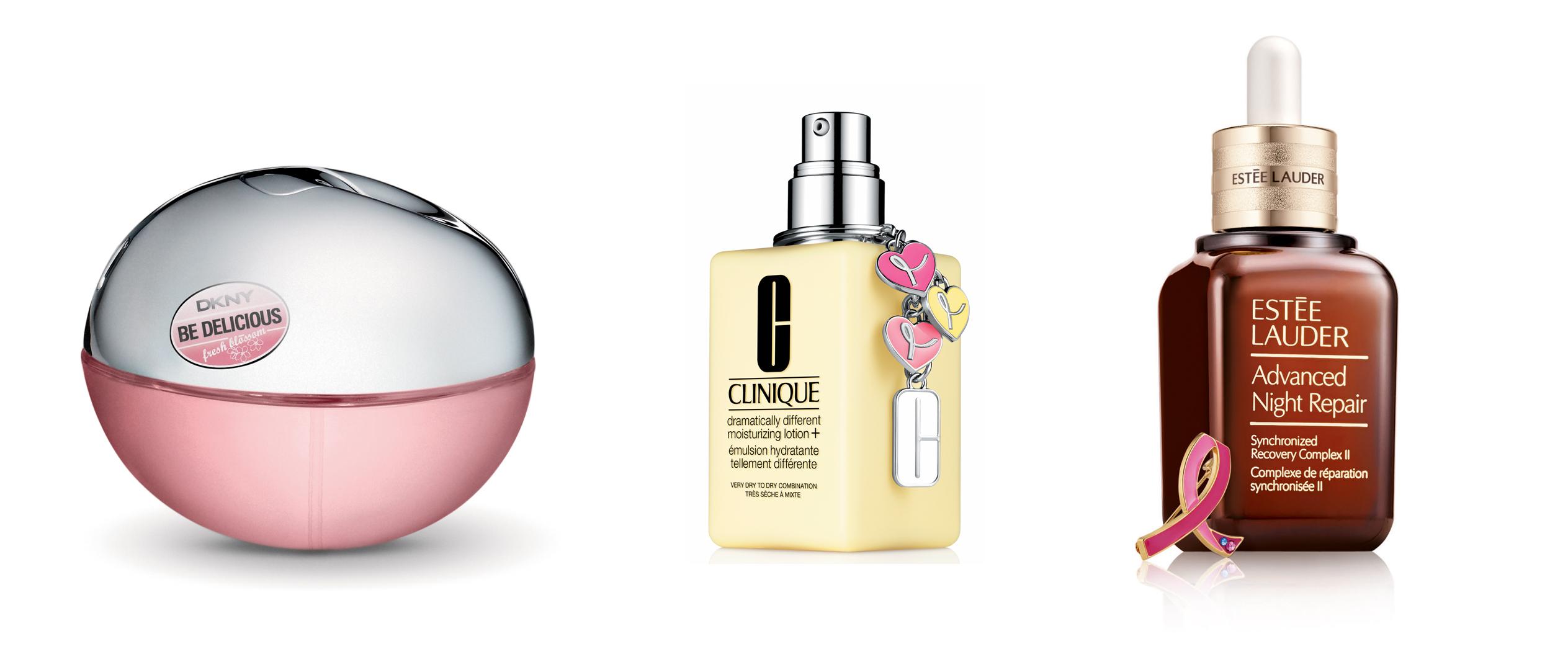 Estée Lauder cáncer mama productos rosas